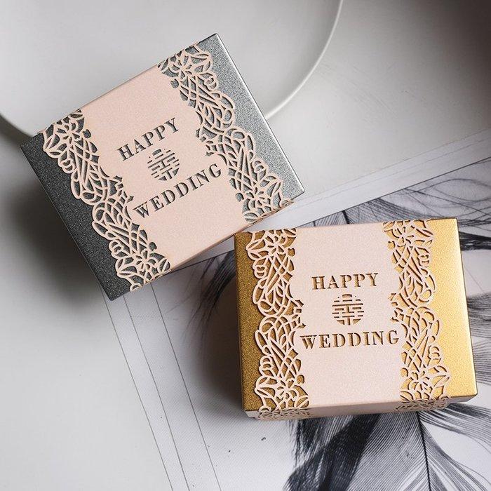 衣萊時尚-熱賣款  喜糖盒馬口鐵盒創意個性婚慶用品糖盒歐式糖果盒 T21