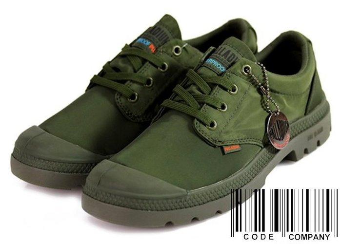 =CodE= PALLADIUM PAMPA OX PUDDLE LT+ WP 防水輕量軍靴(軍綠)76116-303女
