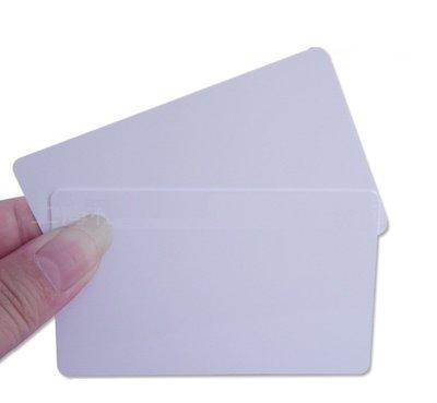【玩具貓窩】薄型 125kHz ID卡白卡RFID感應卡(卡號可複製) 門禁 出勤 會員卡