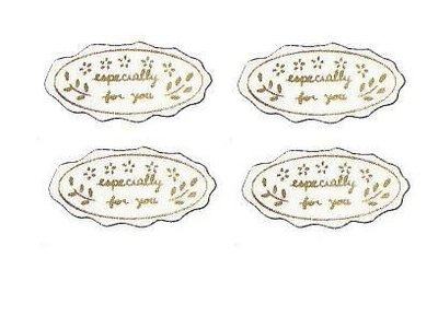 ☆╮Jessice 雜貨小鋪╭☆日本進口 燙金小花 especially禮品貼紙 每包150(特別的禮物送給你)