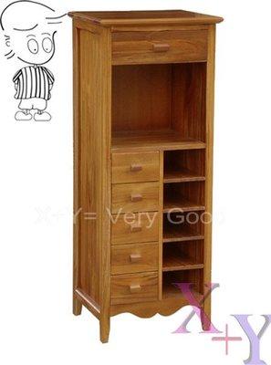 【X+Y】艾克斯居家生活館 柚木家具系列-柚木六抽櫃.收納櫃-實木櫥櫃.精緻典雅.摩登家具