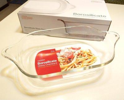 樂扣耐熱玻璃烤盤  調理盤,2.0L 2000ml大容量