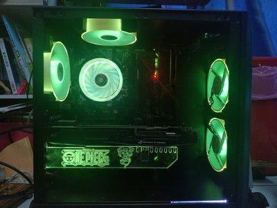 自組 intel i7-8700 電競電腦主機 i7 8700 華碩 gtx1060 6g 顯示卡 rgb同步燈效