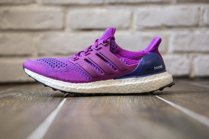 【美國鞋校】 現貨 Adidas Ultra Boost 桃紅編織 慢跑鞋 女鞋 B34051