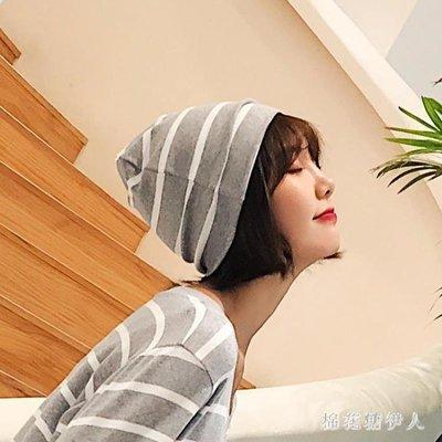 月子帽 坐月子帽子睡帽空調帽產后女秋冬帽款產婦頭巾 AW7241