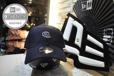 New Era Branded NE Logo Basic Fabrics 9Twenty 泡泡棉布料深藍色色920老帽