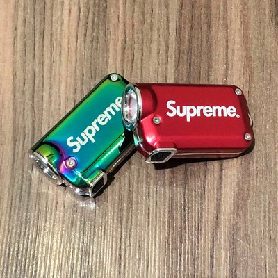 【ETW】一中店 Supreme NITECORE Tini Keychain Light 手電筒 鑰匙圈 現貨