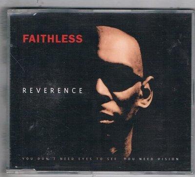 [鑫隆音樂]西洋單曲-FAITHLESS / REVERENCE {CHEKCD019}全新/免競標