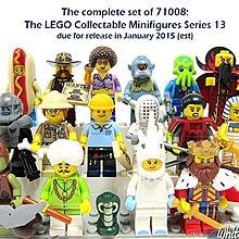 LEGO 樂高 71008 13代 人偶包 全套16隻