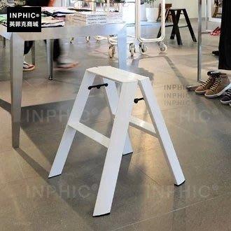 INPHIC-彩色家用梯子梯凳白色人字梯加粗梯工藝梯烤漆梯_S00061C