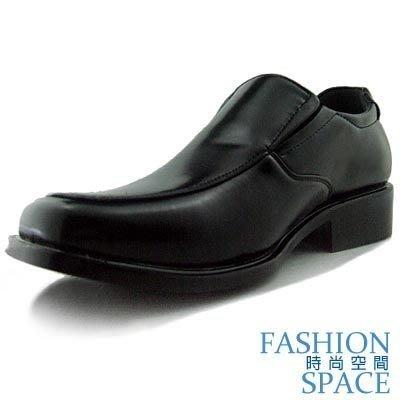 皮鞋 時尚空間 時尚最低價.皮鞋基本百搭款.歐式貴氣亮面黑皮鞋【7821】