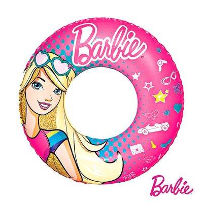 Barbie。芭比娃娃充氣泳圈93202(69-34328)