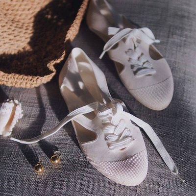 預購 F-Troupe  好穿好走 人氣 經典款  綁帶果凍鞋 洞洞鞋 雨鞋