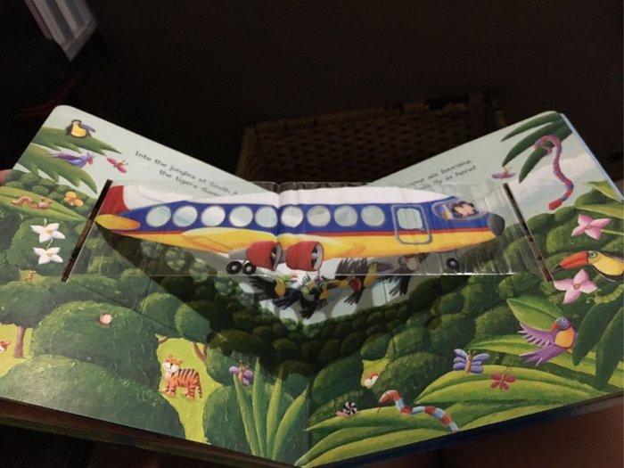 Animal Airways 交通工具立體飛機繪本