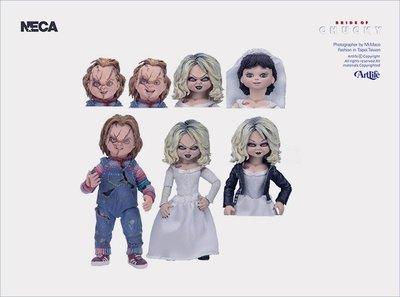 ArtLife @ NECA Bride of Chucky & Tiffany 鬼娃新娘 恰奇 洽吉 蒂芬妮 雙人組