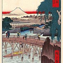英國進口海報  PP34595( 浮世繪畫家 歌川廣重 Hiroshige)
