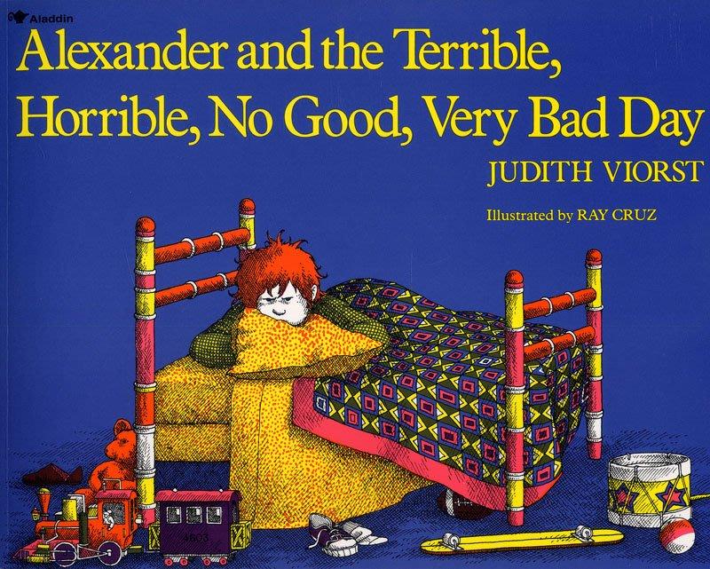 *小貝比的家*ALEXANDER AND THE TERRIBLE, HORRIBLE, NO GOOD, VERY B