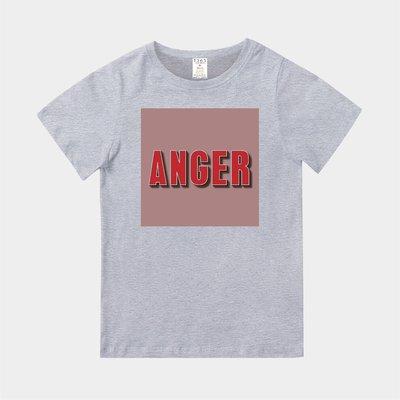 T365 MIT 親子裝 T恤 童裝 情侶裝 T-shirt 標語 話題 口號 標誌 美式風格 slogan ANGER