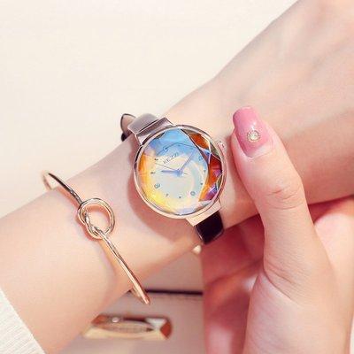 手錶代購珂紫十大名牌正品女士手錶學生ins風簡約氣質時尚女款防水石英錶