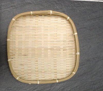 香河竹藝行***方形日曬用竹盤試吃展示點心麵包盤