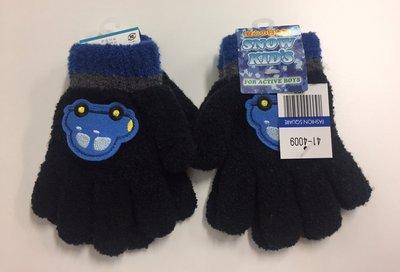 現貨 日本製 Comfortably Warm Gloves 兒童 小朋友 舒適溫暖手套 Gloves 5手指類型 黑色