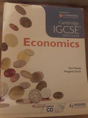 ECONOMICS Cambridge IGCSE and O Level
