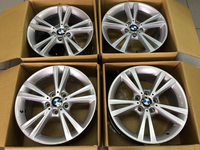 中古美品 正廠 原廠鋁圈 BMW F20 18吋 5孔120 前後配 E87 F21 完工價 40000 原廠選配