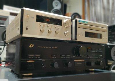 [超值精品組合] 日本 YAMAHA RX-E600 + DVD E600 含原廠喇叭 光纖 數位同軸 雙聲道綜合擴大機