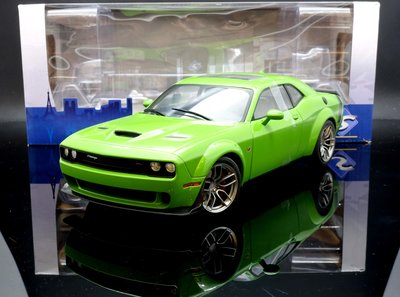 【M.A.S.H】[現貨特價] Solido 1/18 Dodge Challenger R/T Scat Pack 綠