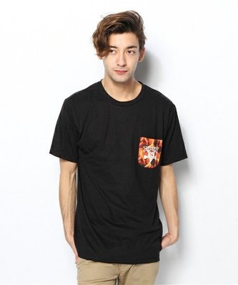 【STEAL】THRASHER INFERNO POCKET T-SHIRTS 現貨 正品 (黑M號)