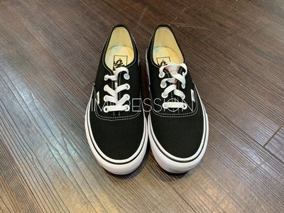 【IMPRESSION】Vans authentic platfor 基本款 黑 白色 厚底 女鞋VN0A3AV8BLK