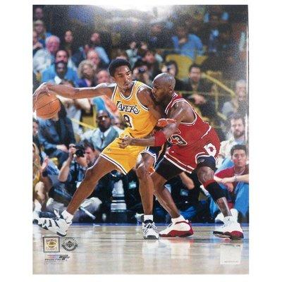 NBA Michael Jordan & Kobe Bryant 1998 Action 8x10 Photo File