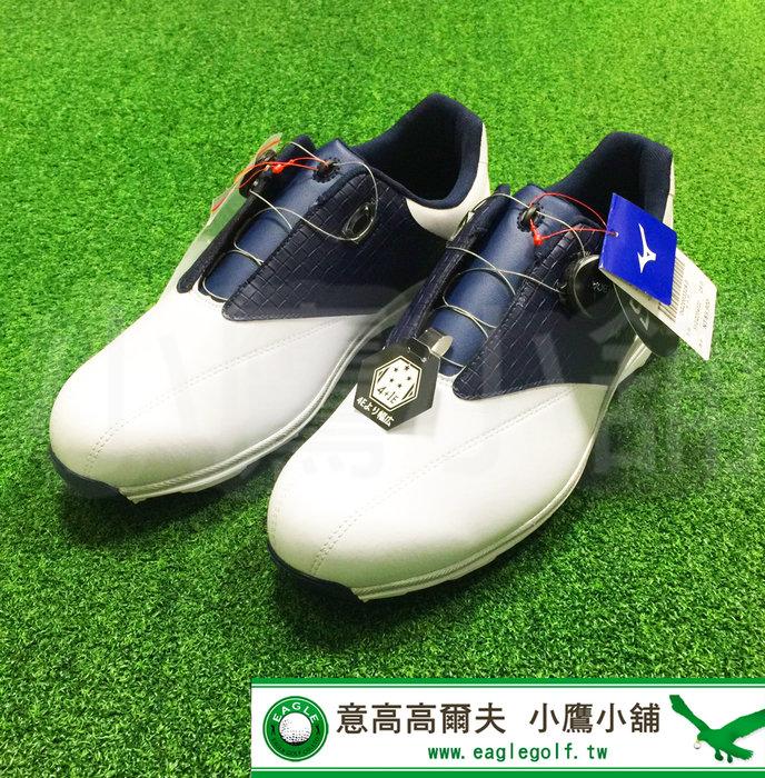 [小鷹小舖] Mizuno Golf WIDE STYLE 003 Boa 51GQ204022 美津濃 高爾夫 有釘