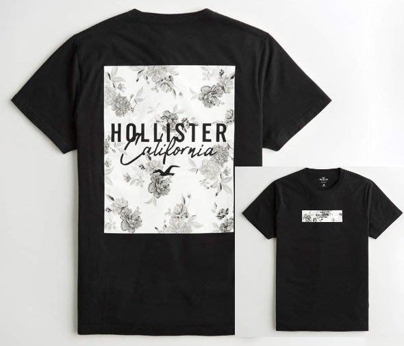 HCO Hollister 海鷗 短袖 T恤 現貨 印花 黑/白