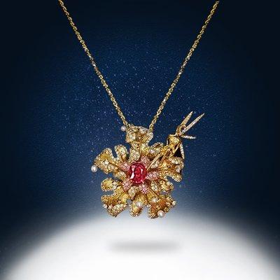 【高品珠寶】首席設計師系列作品-Flight Of Fantasy 讓金色的精靈帶領你進入魔幻的世界中-11月