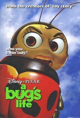 蟲蟲危機-A Bug's Life(1998)(瓢蟲Francis版)原版電影海報
