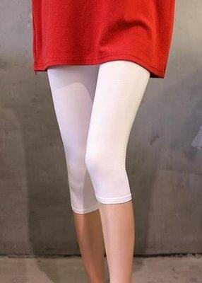 店長嚴選莫代爾七分褲女夏季2019新款韓版薄款打底褲彈力顯瘦大碼胖mm褲子