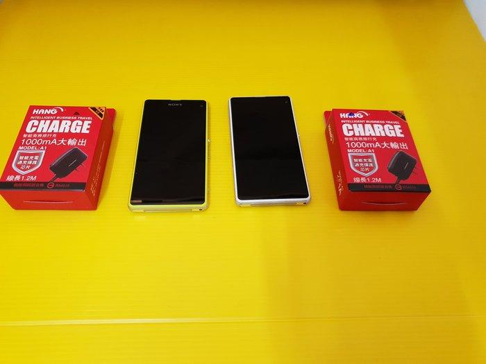 買賣交換最划算☆最便宜 SONY Z1C Z1 compact 4G手機 (一隻各1500) D5503 只要1500