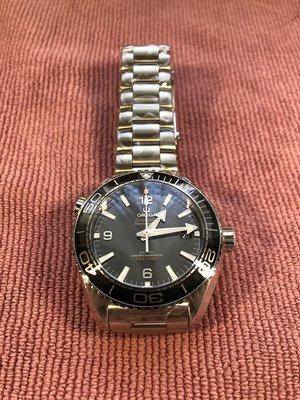 OMEGA 亞米茄新海馬 Planet Ocean 600米潛水機械錶 43.5mm