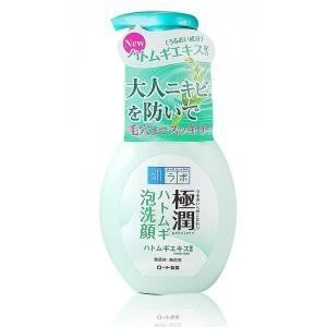♡NANA♡ROHTO 肌研 極潤 保濕泡洗顏(薏仁) (薏仁保濕泡沫潔顏乳)160ml