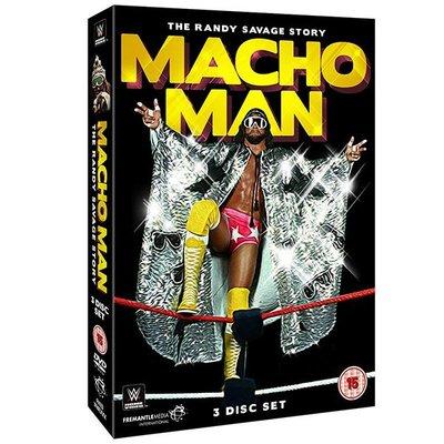 ☆阿Su倉庫☆WWE摔角 Macho Man The Randy Savage Story DVD 傳奇巨星最新精選專輯