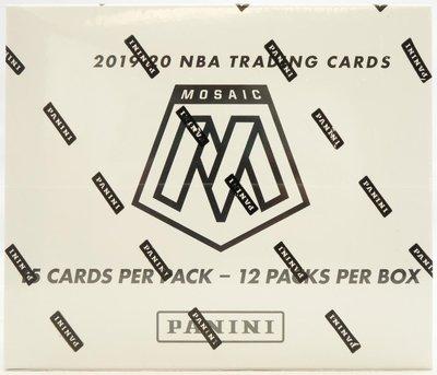 2019-20 Mosaic Multi-pack 完整盒 馬賽克 可拆zion morant doncic