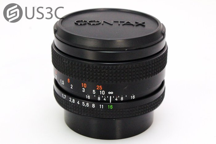 【US3C】卡爾蔡司 Carl Zeiss Planar T* 50mm F1.7 For Contax 蔡司鏡 定焦鏡