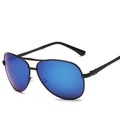 太陽眼鏡 偏光墨鏡-金屬框架炫彩反光男女眼鏡配件8色73en8[獨家進口][米蘭精品]