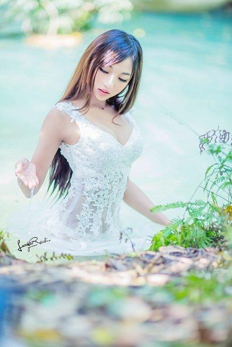 【優上精品】春季蕾絲透視性感藝術寫真影樓主題服裝婚紗攝影演出女孩寫真(Z-P3238)