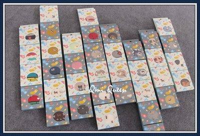 Q朵米-可愛北極熊圖案船型純棉情侶襪(附盒子)  隱形襪 透氣短襪