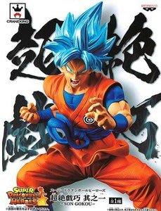 日本正版 景品 七龍珠 超絕戲巧 其之一 孫悟空 神悟空 藍髮 公仔 模型 日本代購