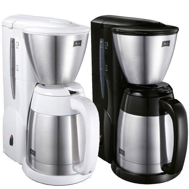 【咖啡逗】免運 2020年新公司貨 .德國Melitta美式咖啡機 美利塔 MKM-531 黑/白 二代真空不銹鋼下壺