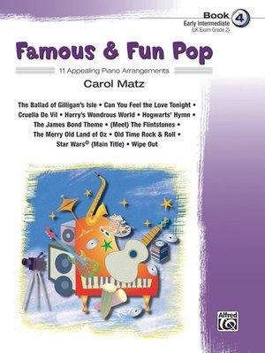 【599免運費】Famous & Fun Pop, Book 4  Alfred 00-25976