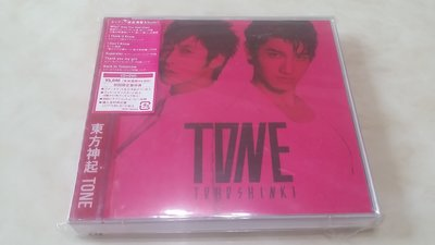 Tohoshinki TVXQ 東方神起 TONE (日本初回限定版 CD+DVD A)允浩卡/JYJ